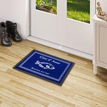Fußmatte Sauberlauf Trend Côte d'Azur Blau