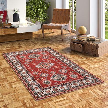 Luxus Orient Teppich Primus Rot Bordüre