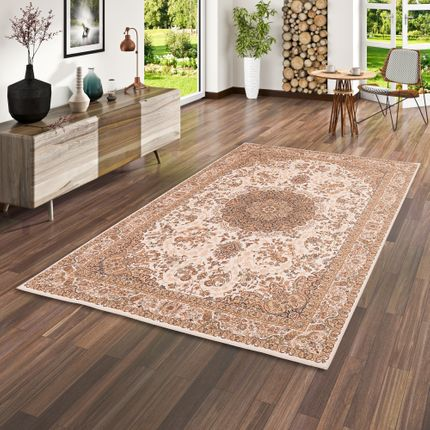 Luxus Orient Teppich Primus Beige Keshan