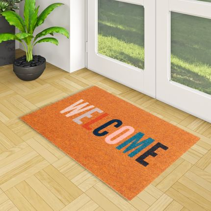 In & Outdoor Fußmatte Power Home Welcome