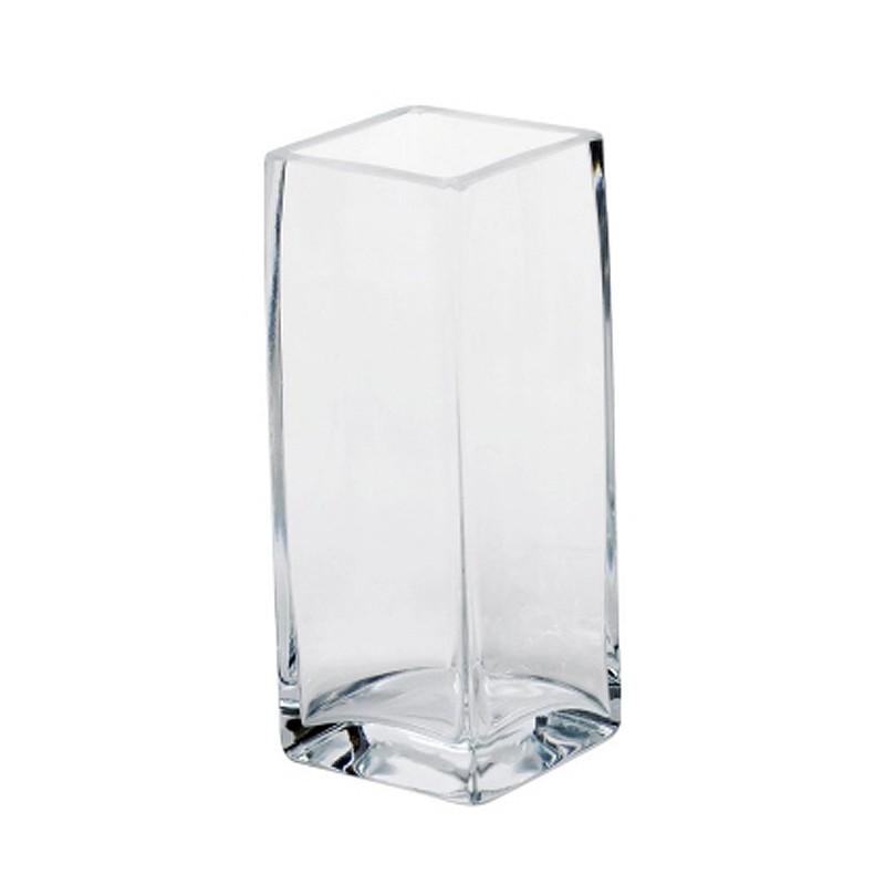 sandra rich 1012 30 vase windlicht square w rfel aus glas eckig 10 x 30 cm klar 1 st ck. Black Bedroom Furniture Sets. Home Design Ideas