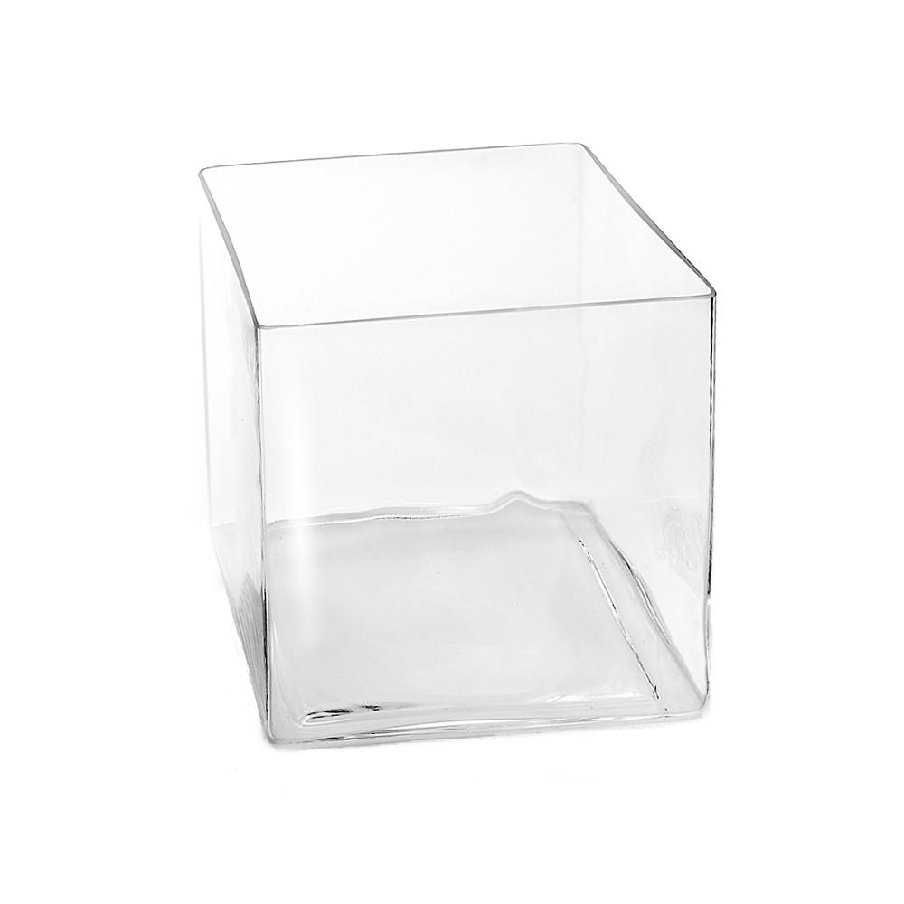 sandra rich vase windlicht cube square w rfel aus glas eckig 1 st ck ebay. Black Bedroom Furniture Sets. Home Design Ideas
