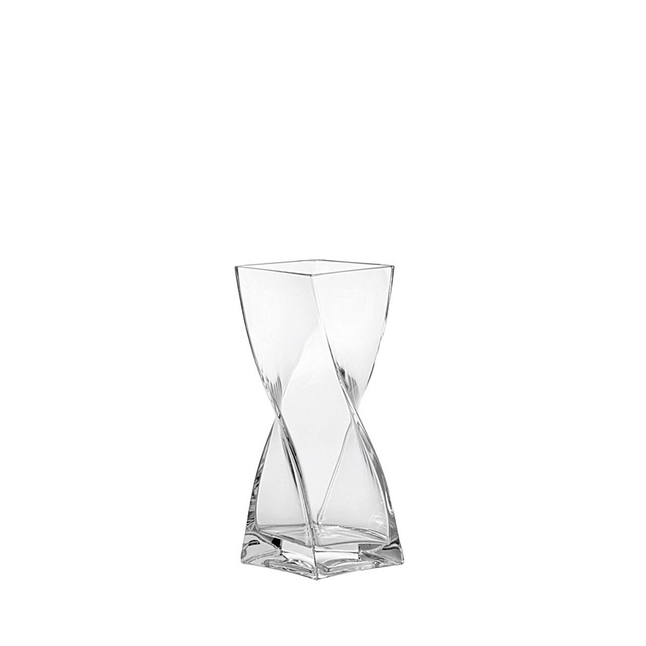 leonardo vase swirl aus glas gedreht schmal oder breit. Black Bedroom Furniture Sets. Home Design Ideas
