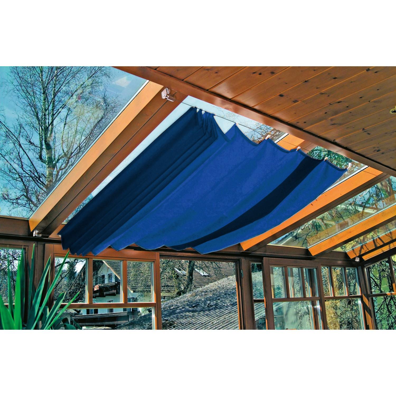 windhager 420x140cm markise sonnensegel f r seilspanntechnik 420x140cm dunkelblau 1 st ck. Black Bedroom Furniture Sets. Home Design Ideas