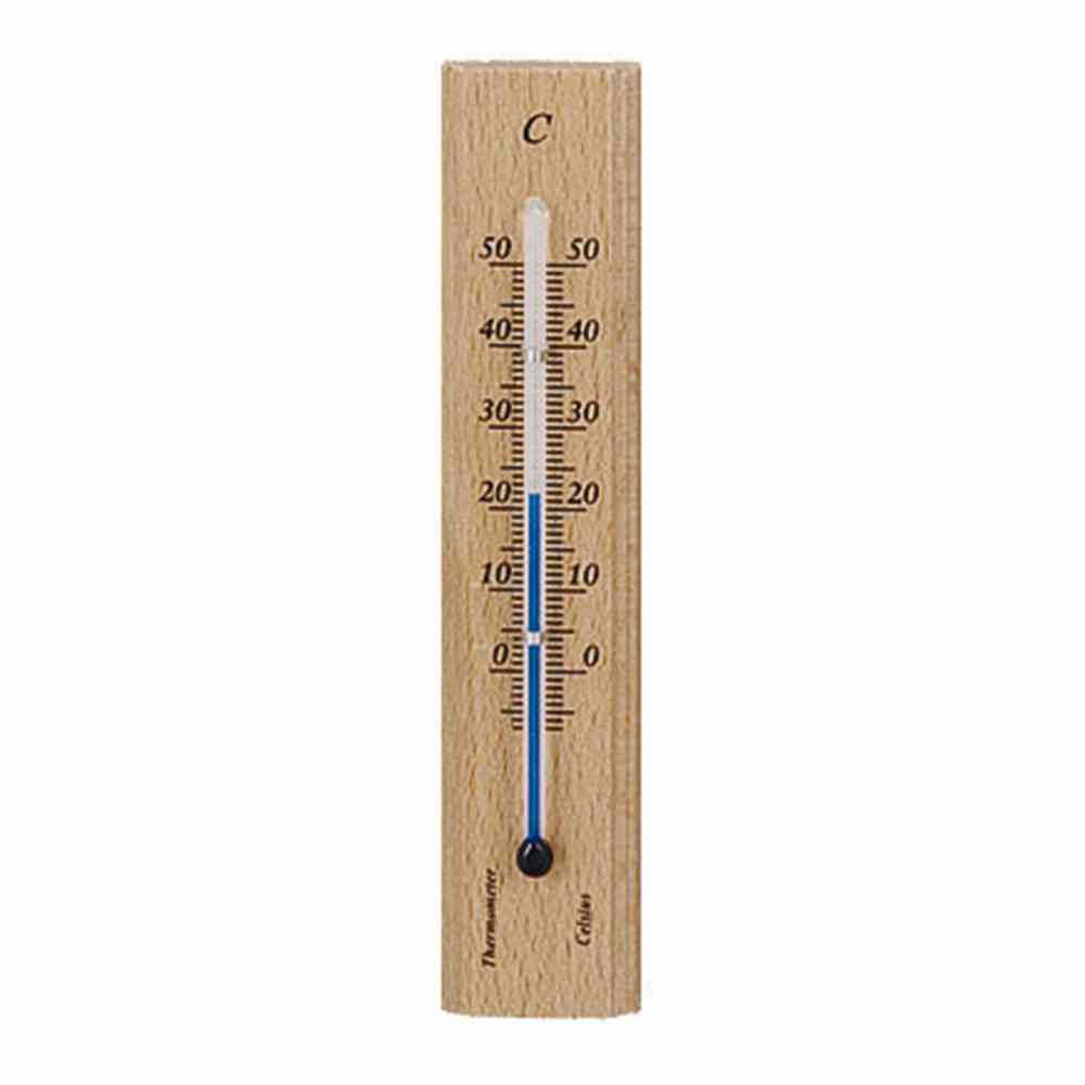Holz-Thermometer Höhe: 14cm