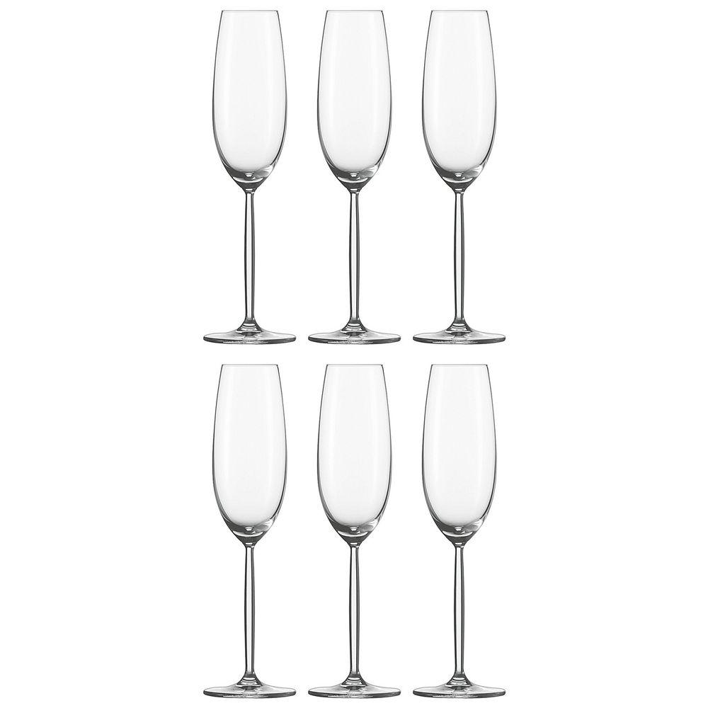Sektglas, Sektkelch, 220ml, H 25,3cm