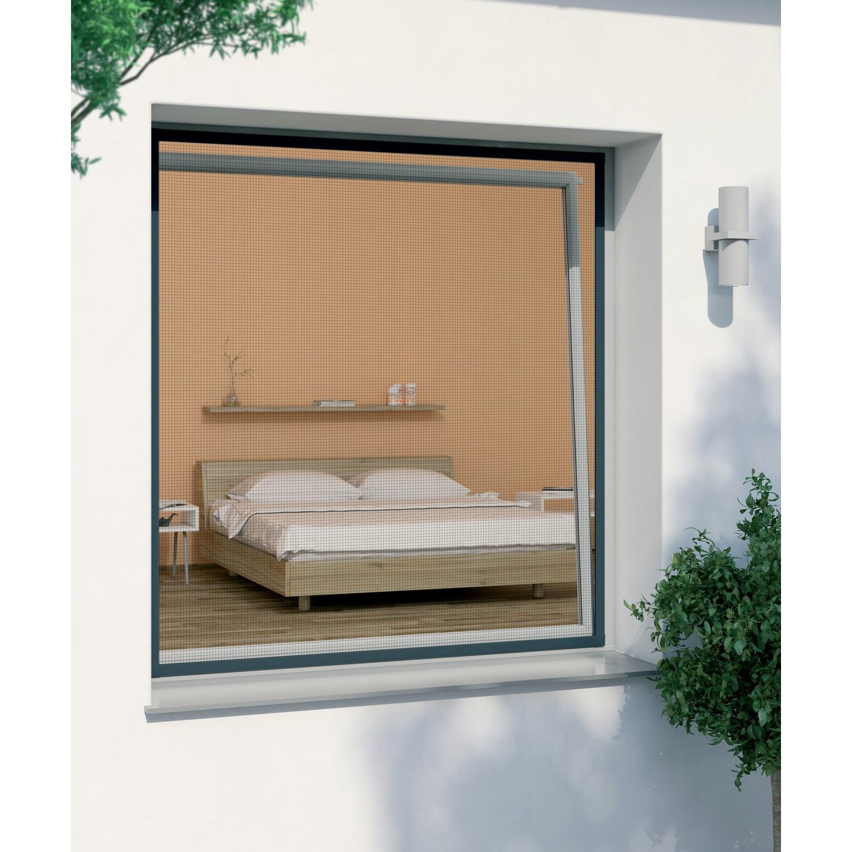 windhager insektenschutz plus spannrahmen f r fenster 100. Black Bedroom Furniture Sets. Home Design Ideas