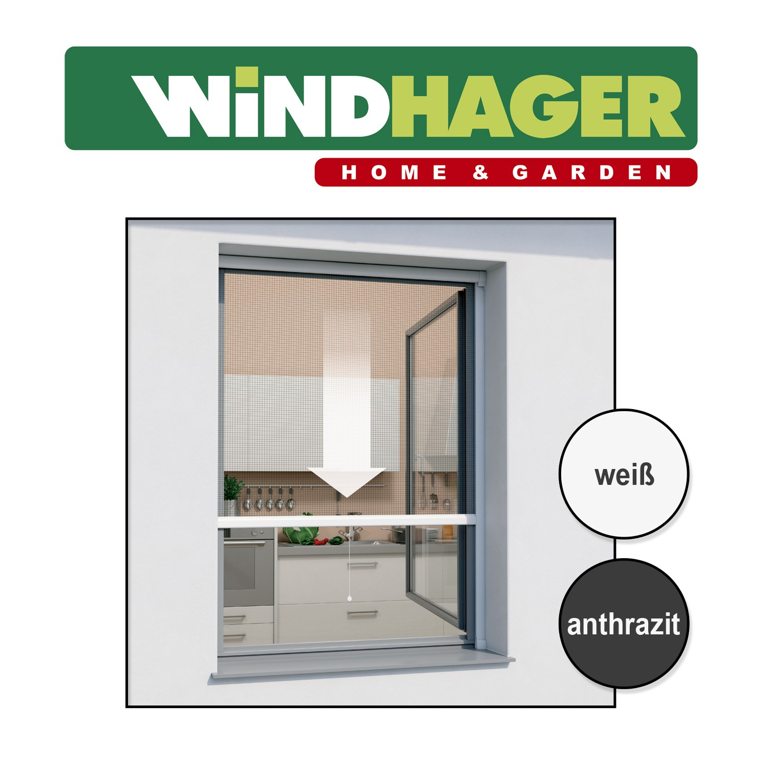 windhager insektenschutz vorh nge gitter rollos rahmen f r t ren fenster ebay. Black Bedroom Furniture Sets. Home Design Ideas