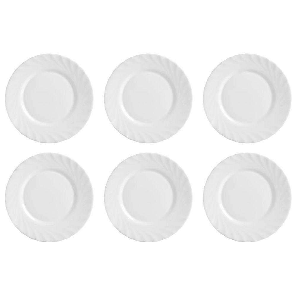 Frühstücksteller Teller, Ø 19,5cm, Opalglas