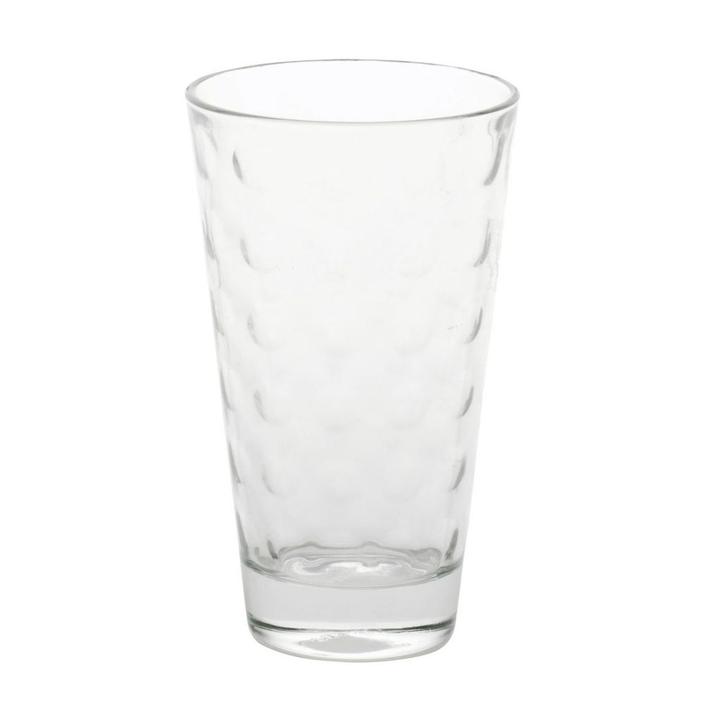 "LEONARDO 035245 ""Optic"" 035245 Glas / Longdrinkbecher & Whiskybecher ""Optic"", 300ml & 250ml, klar, 12-teilig (1 Set) – Bild 5"