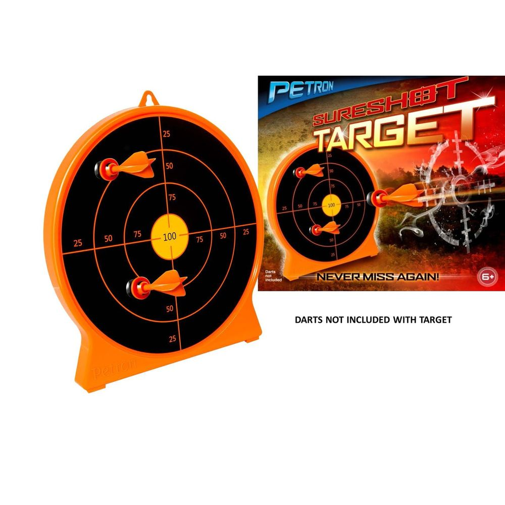 "Petron 162/1C ""SURESHOT"" Combo Pack Crossbow Kinder Armbrust + Zielscheibe, orange/schwarz (1 Set) – Bild 3"