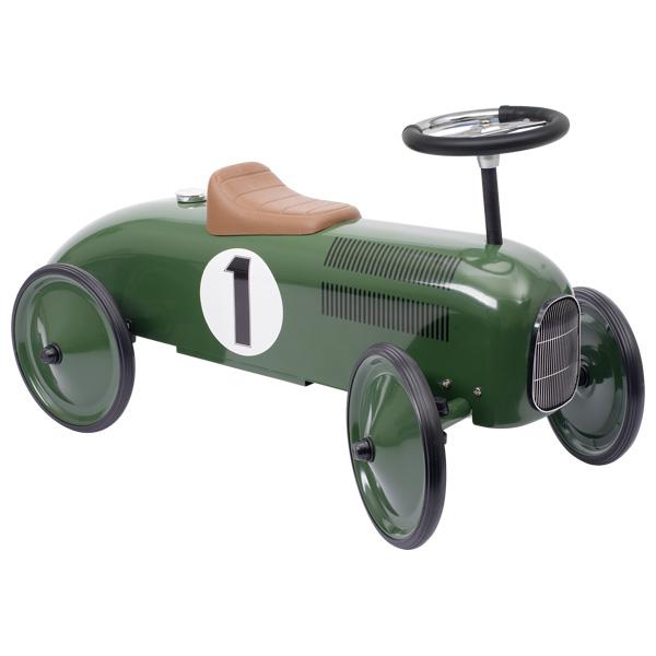 goki 14167 Rutscherfahrzeug, grün (1 Stück)