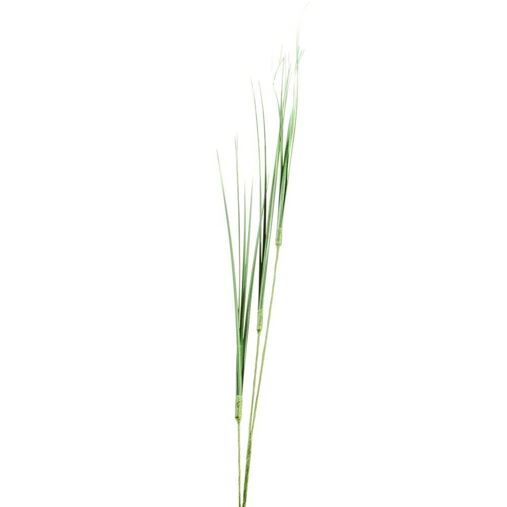 Deko Kunstblume Graswedel Isolepsisgras aus Kunststoff, 75cm