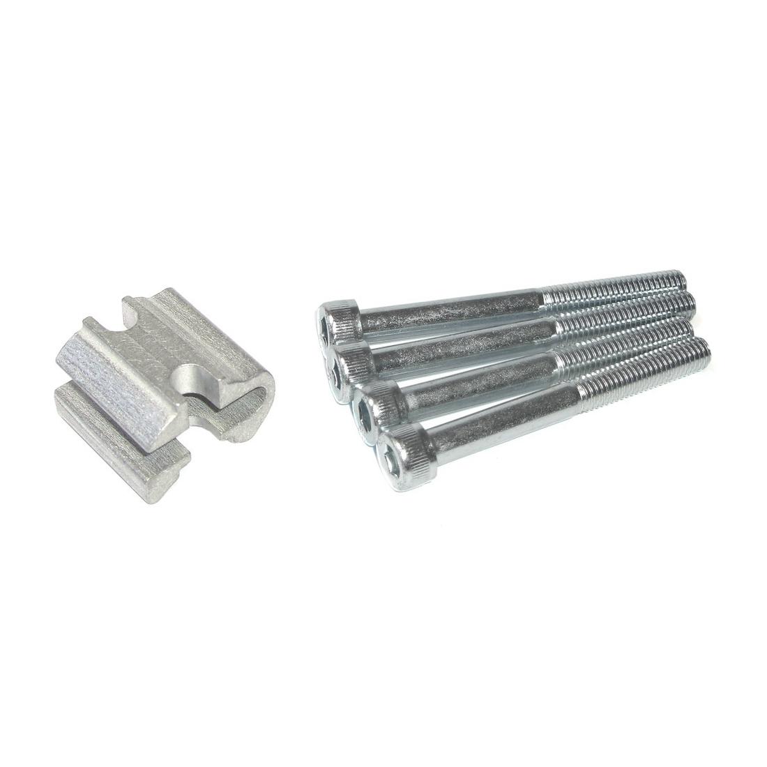 1 Stück 350mm ergotec 58377001 Alu Patentsattelstütze Ø 30,0mm schwarz