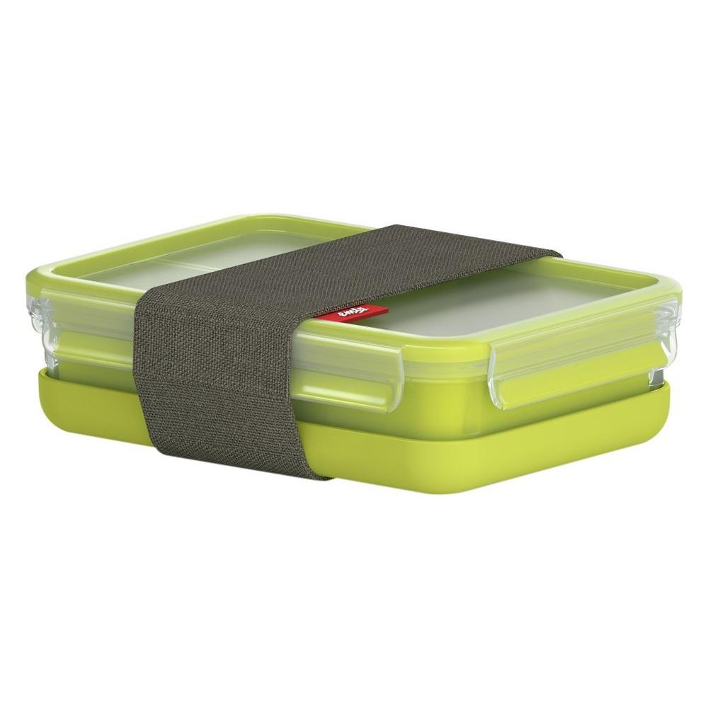 1 Stück Emsa 518104 Clip/&Go Sandwichbox quad 0,85L