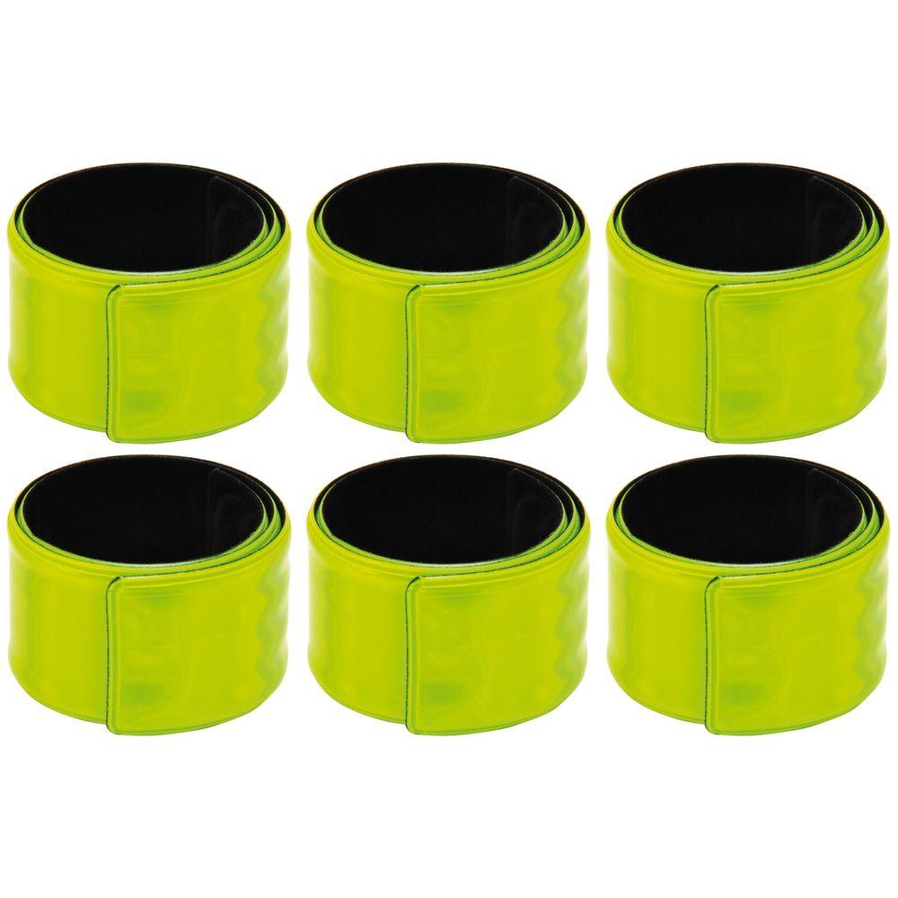 EDUPLAY 800256 Reflektorbänder, gelb (6 Stück)