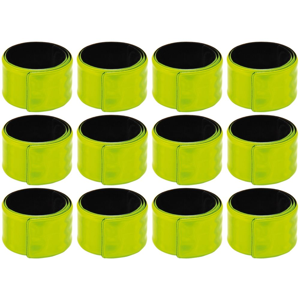 EDUPLAY 800479 Reflektorbänder, gelb (12er Pack)