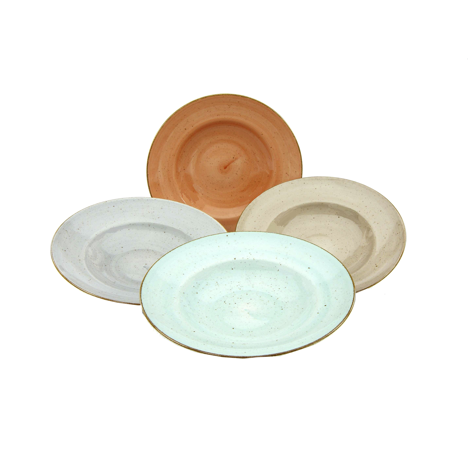 Pastateller Vintage Nature 1 Set 4 Teilig