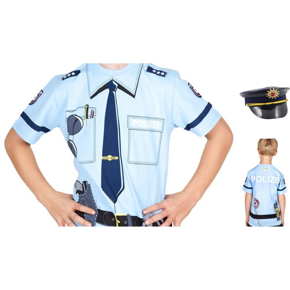 Kinder T-Shirt, Größe 92 & Mütze