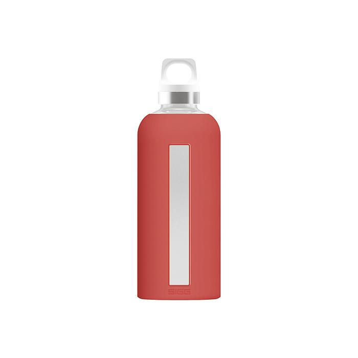 Glasflasche Star scarlet 0,5 l