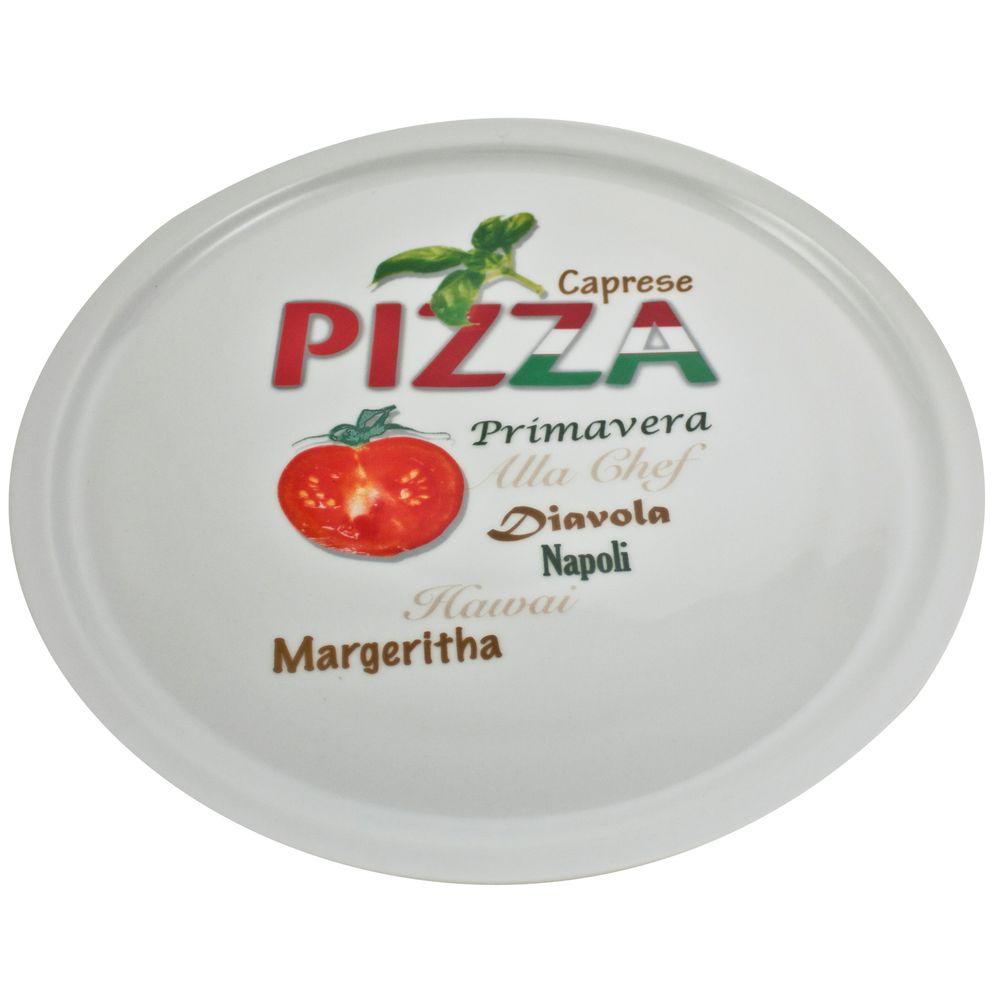 Pizzateller Pomodoro, mehrfarbig