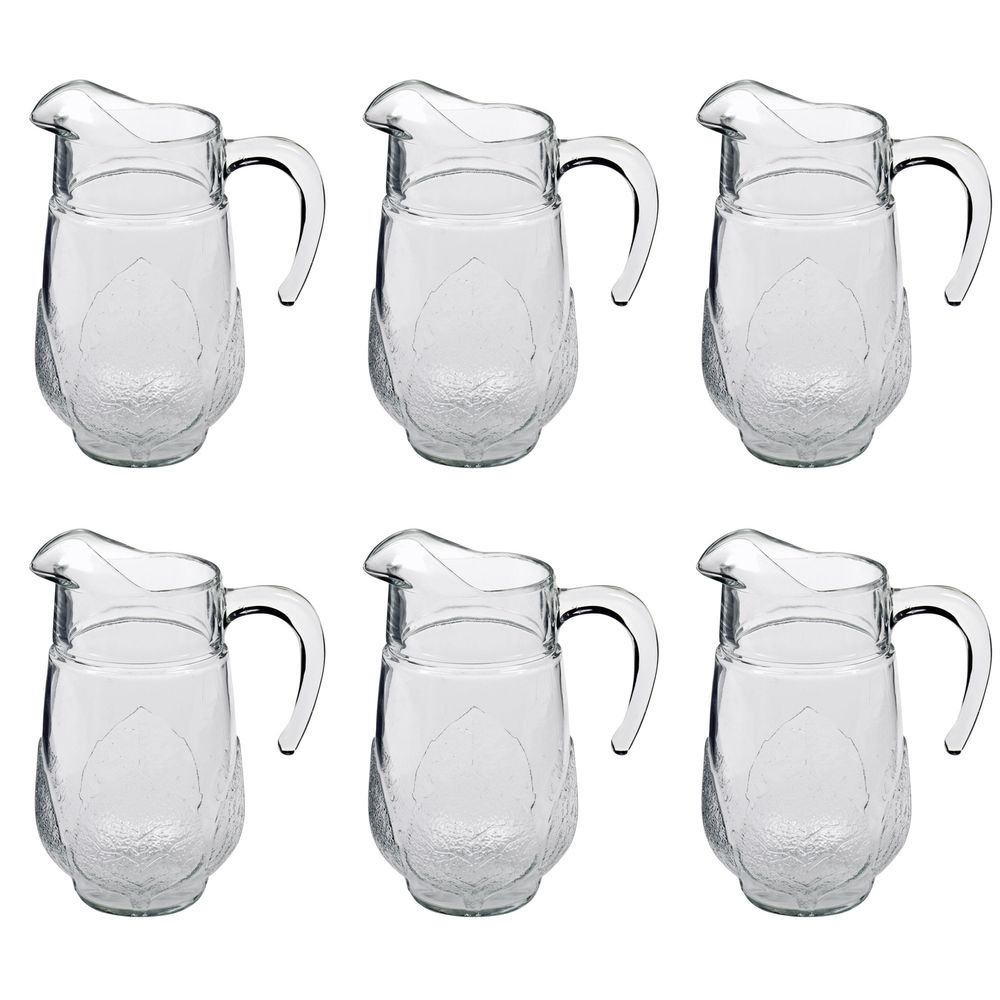 Wasserkrug Saftkrug, Glas, 1,3 Liter