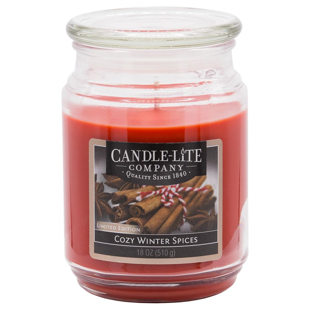 Candle-Lite A04326939 Duftkerze Cozy Winter Spices (510 g)