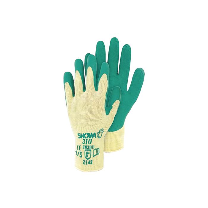 """TRIUSO H 310L Gartenhandschuh """"Showa"""" Größe 9, gelb/grün (1 Paar)"""