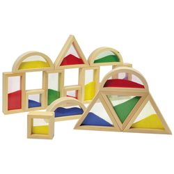 EDUPLAY 120-158 Blocks mit Sand, bunt (16er Pack) – Bild 2