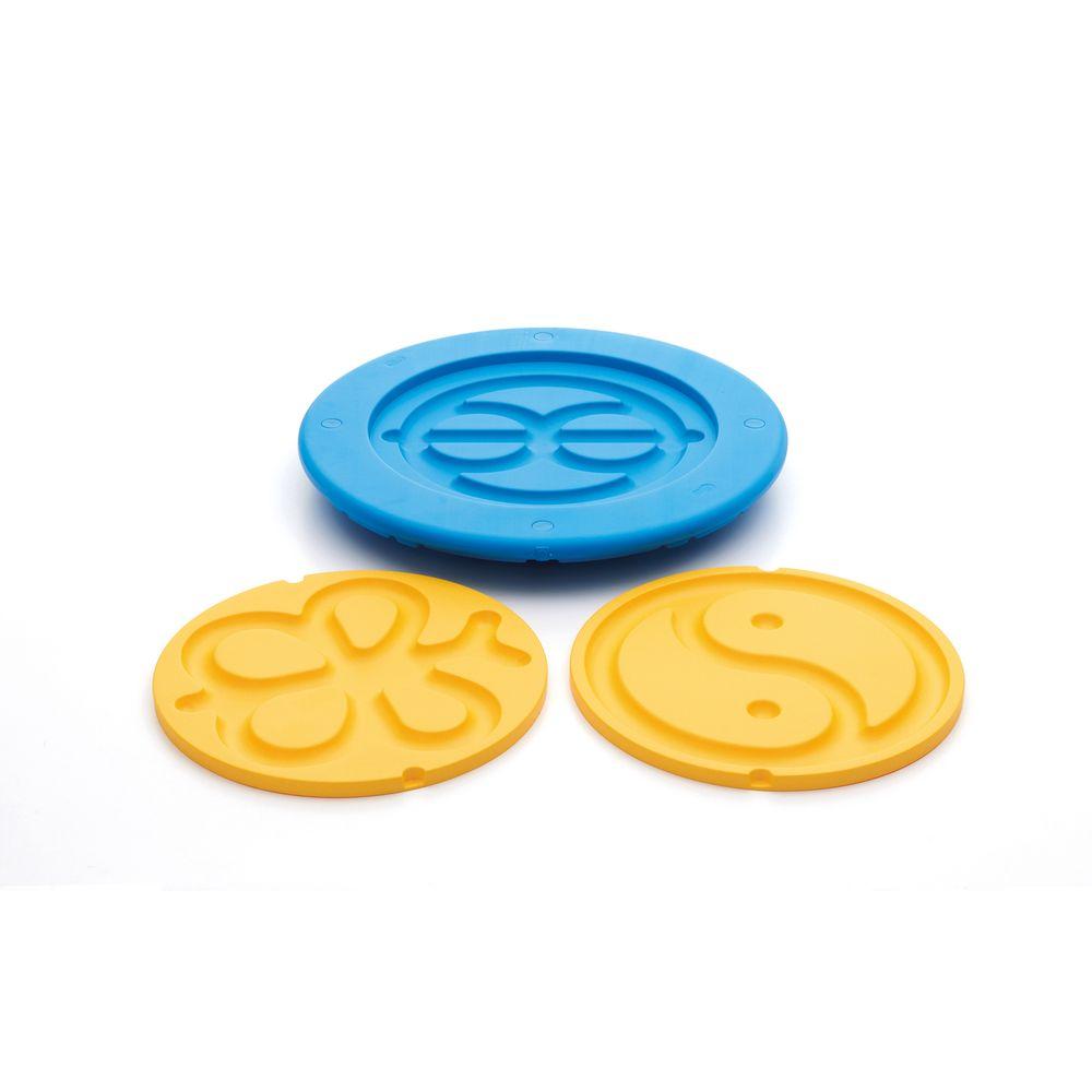 Weplay KP0003 Tai Chi Taiji Balance Board blau Größe L, blau (1 Stück)