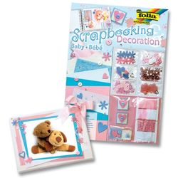 Scrapbooking Decoration, Motiv Baby, Deco Set – Bild 3