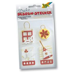 Deko 3D Design Sticker, 4 Motive Weihnachten Set 3
