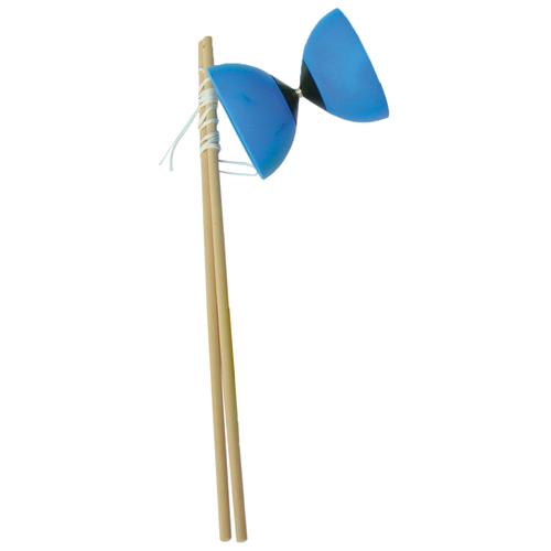 EDUPLAY 170-004 Diabolo Jonglage, blau (1 Stück)