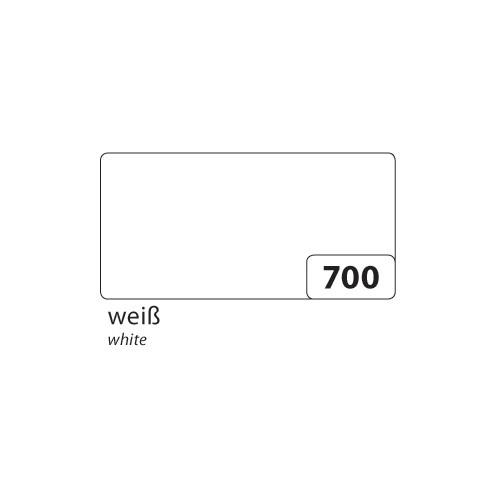 folia 65701 Plakatkarton Preisschilderkarton 380 g/m², 48 x 68 cm, weiß (10 Bogen)