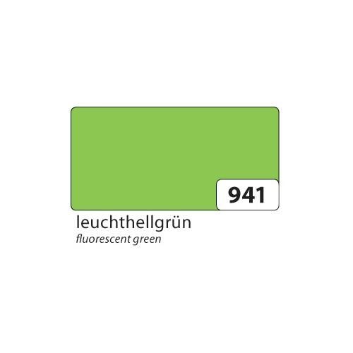 Folia Plakatkarton 380g/m², 24x34cm, leuchthellgrün (50 Bogen)