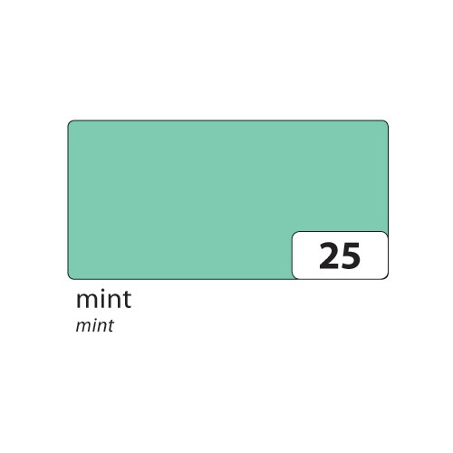 folia 67/25 25 Tonpapier 130g/m², 50x70cm, mint (25 Bogen)