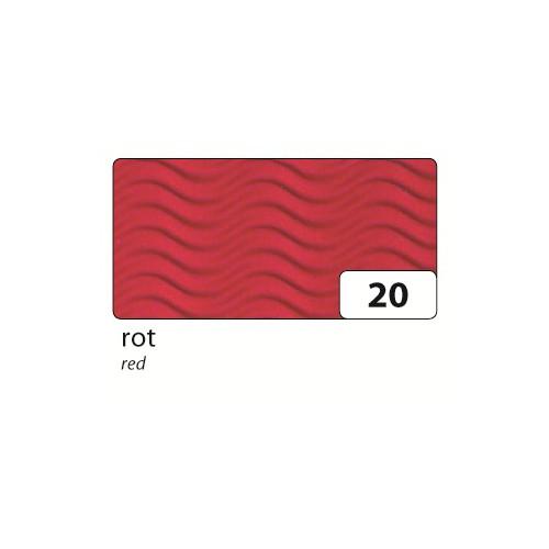 folia 93020 Geschwister Schultüten 3D-Wellpappe, H 41cm, Ø 14,5cm, rot (5er Pack)
