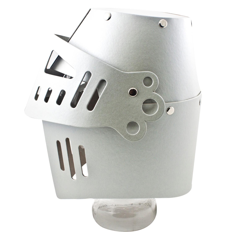 kid 39 s shirt 5121 ritter kinder helm mit visier pappe silber 1 st ck spielzeug. Black Bedroom Furniture Sets. Home Design Ideas