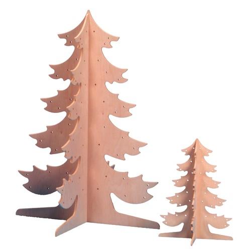 Tannenbaum zum Bemalen, Holz, 110 cm