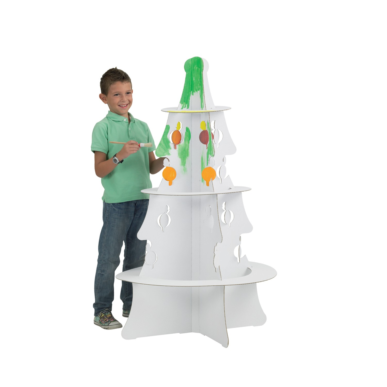 joypac white line karton weihnachtsbaum xxl zum aufbauen. Black Bedroom Furniture Sets. Home Design Ideas