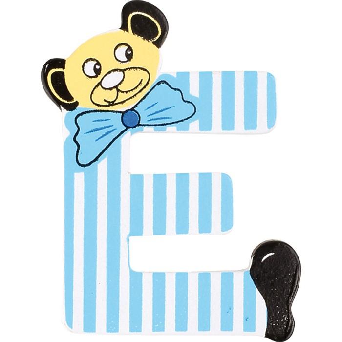 Bären-ABC aus Holz, Buchstabe E