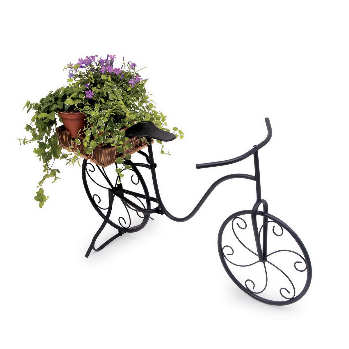 small foot 5705 deko pflanzen fahrrad marlene mit blumenkorb spielzeug top marken small foot. Black Bedroom Furniture Sets. Home Design Ideas