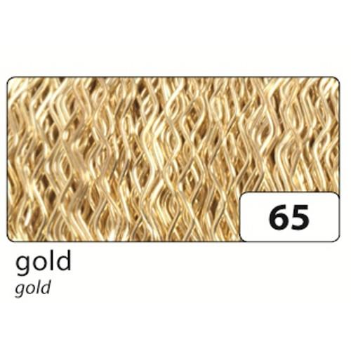 Folia Bouillondraht, 0,3mm x 60m, gold (1 Stück)