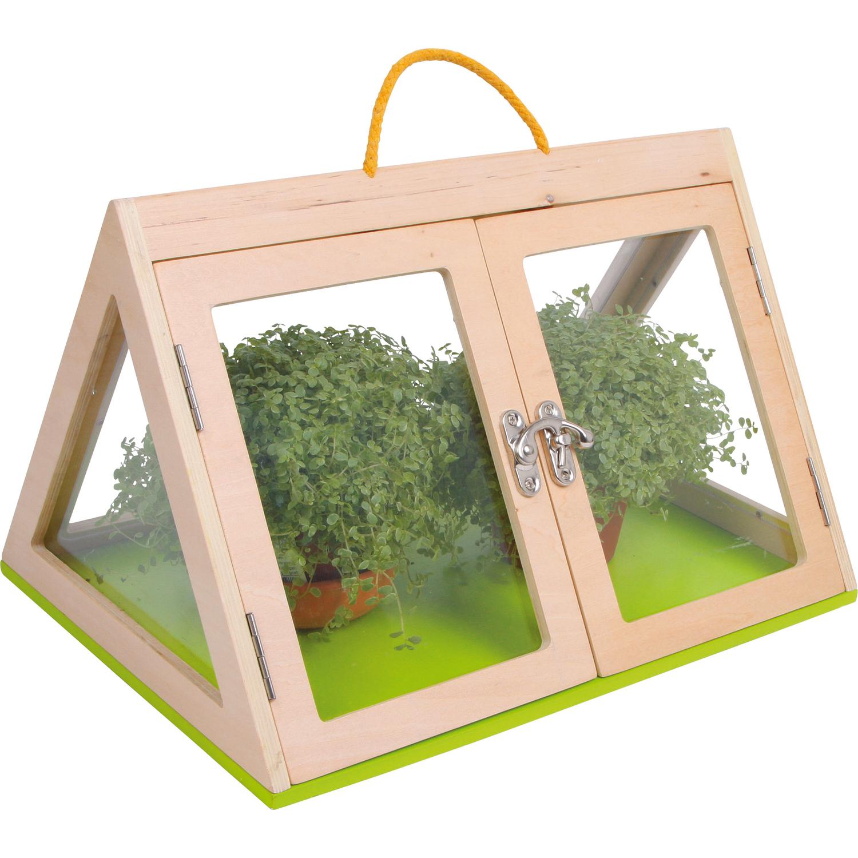 small foot design 6742 gew chshaus pyramide aus holz mit. Black Bedroom Furniture Sets. Home Design Ideas