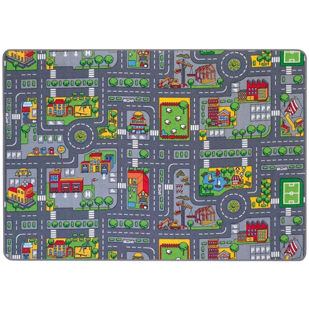 Spielteppich Straßenverkehr, 140 x 200cm