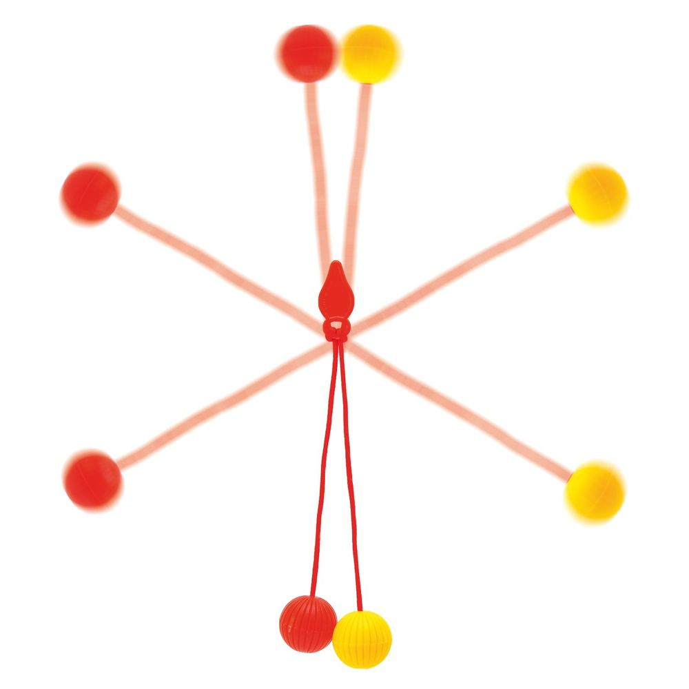 Klickerball Kugel Stoßspiel