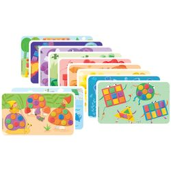 "PlayMais 160086 ""FUN TO LEARN"" Zusatzset Colors & Forms, Kartonvorlagen, bunt, 14-teilig (1 Set) – Bild 1"