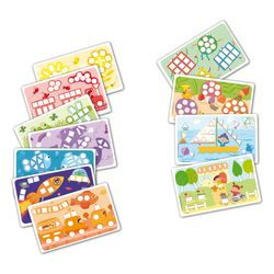"PlayMais 160086 ""FUN TO LEARN"" Zusatzset Colors & Forms, Kartonvorlagen, bunt, 14-teilig (1 Set) – Bild 2"
