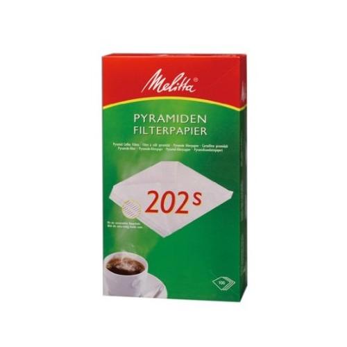 Melitta Filtertüten, Pyramiden-Filterpapier, 202s
