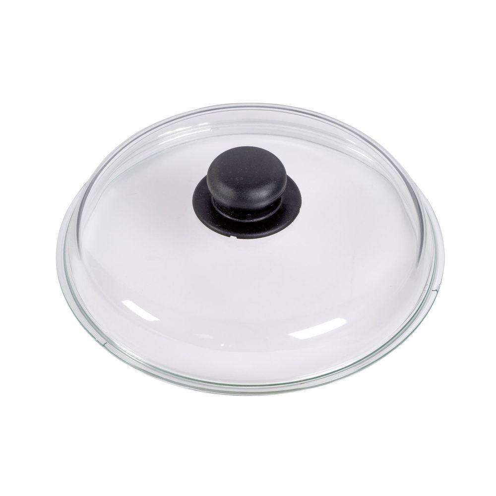 Glasdeckel mit Kunststoffgriff, Ø 16 cm